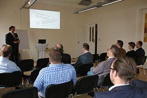 Unternehmensnachfolge bei INTAGUS - Vortrag