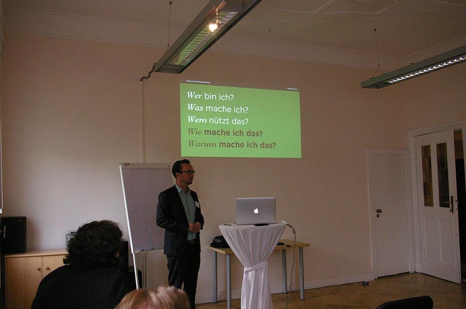 Unternehmensnachfolge bei INTAGUS Vortrag