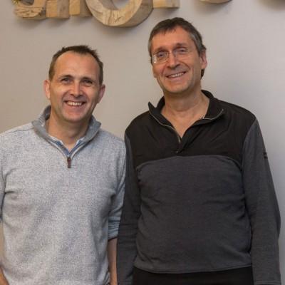 Martin Permantier und Stefan Merath